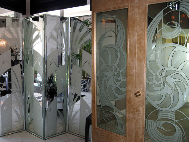 Glass-Carving-Doors-Screen